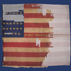 6th Wisconsin Infantry & Their Flag