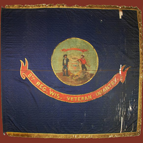 8th Wisconsin Infantry & Their Flag